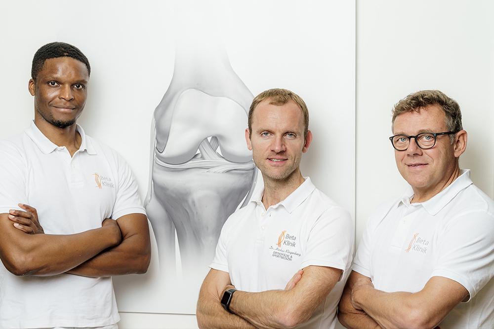 Gemeinschaftspraxis Bonn für Neurochirurgie, Orthopädie, Unfallchirurgie, Radiologie, Sportmedizin - Team Kniegelenk