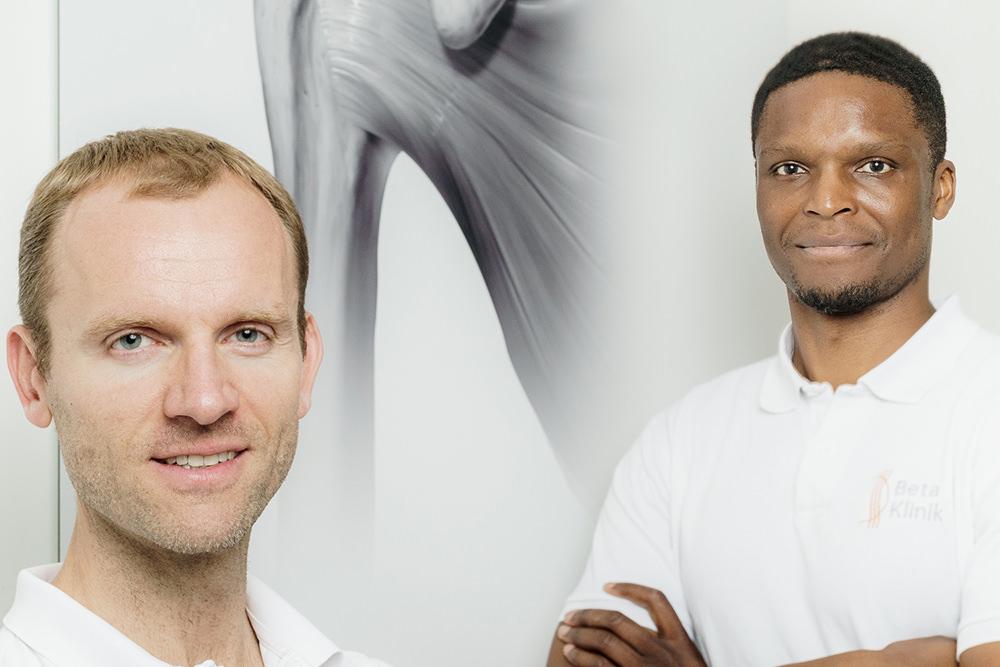 Gemeinschaftspraxis Bonn für Neurochirurgie, Orthopädie, Unfallchirurgie, Radiologie, Sportmedizin - Team Schulter