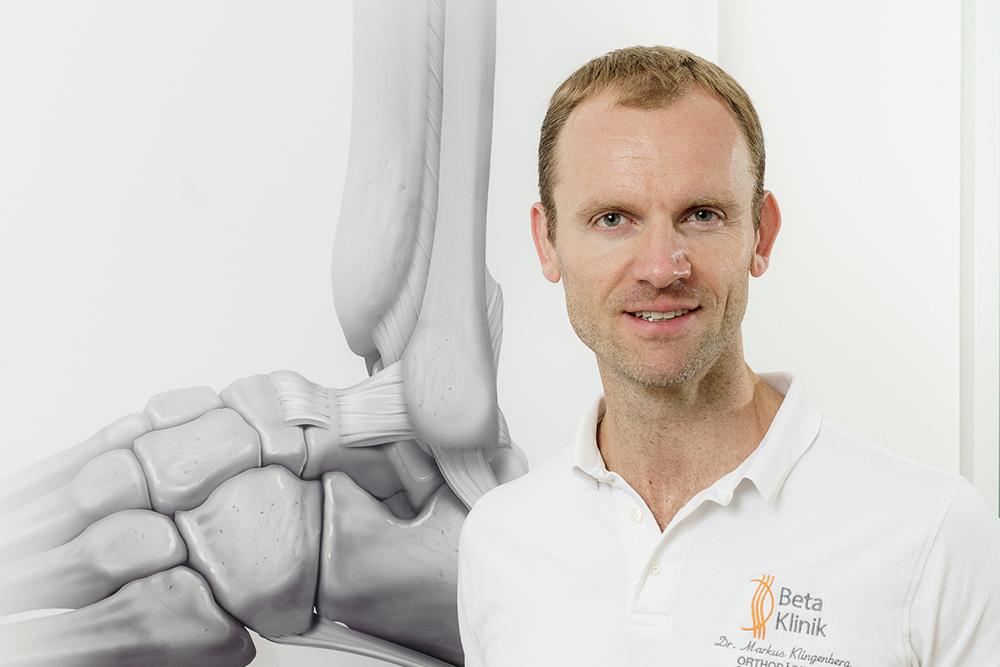 Gemeinschaftspraxis Bonn für Neurochirurgie, Orthopädie, Unfallchirurgie, Radiologie, Sportmedizin - Team Sprunggelenk