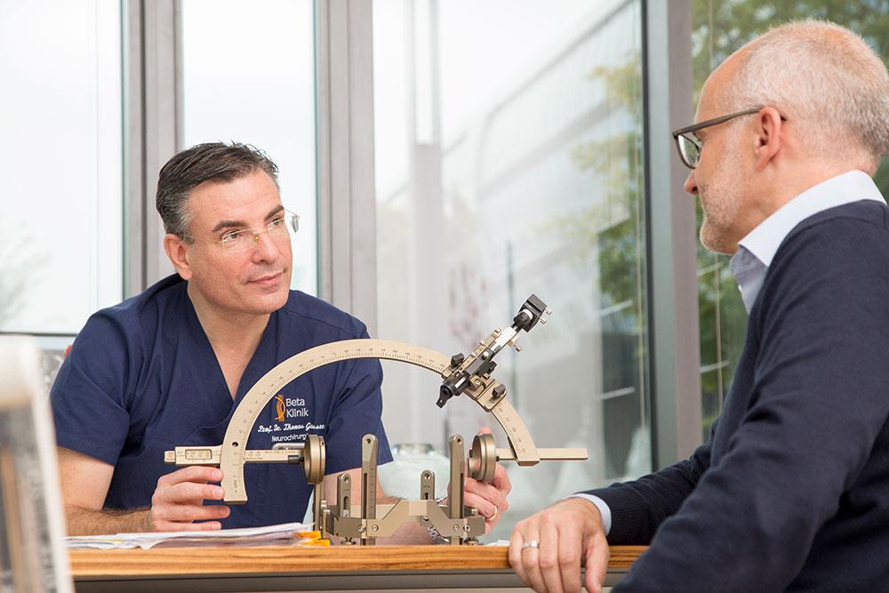 Neurochirurgie Bonn - Stereotaxie und Funktionelle Neurochirurgie